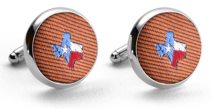 State of Texas Club Cufflinks/Bird Dog Bay