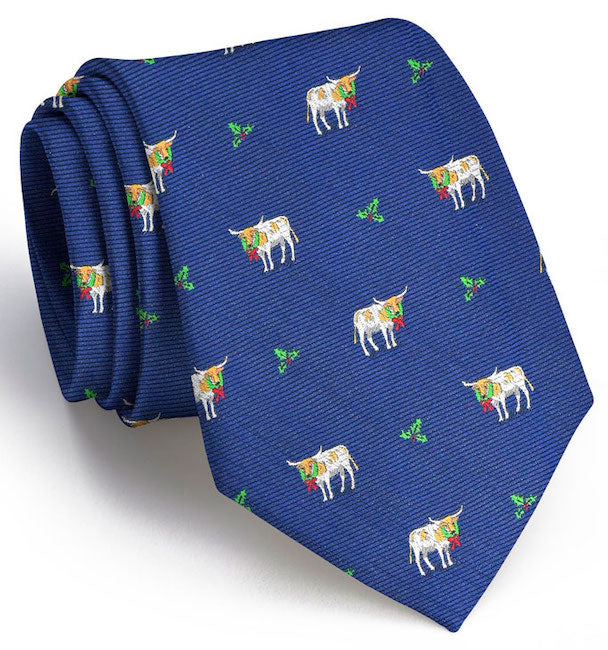 Christmas Cattle Club Tie/Bird Dog Day