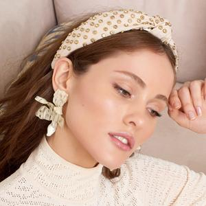 Faded Blush Crystal Headband/LeLe Sadoughi
