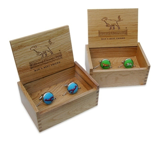 Reindeer Red Cufflinks/Bird Dog Bay