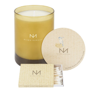 Serengeti Vintage Leather Candle/Niven Morgan
