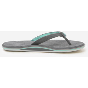 Women's Dunes Sandal in Dark Gray, Light Gray & Mint/Hari Mari