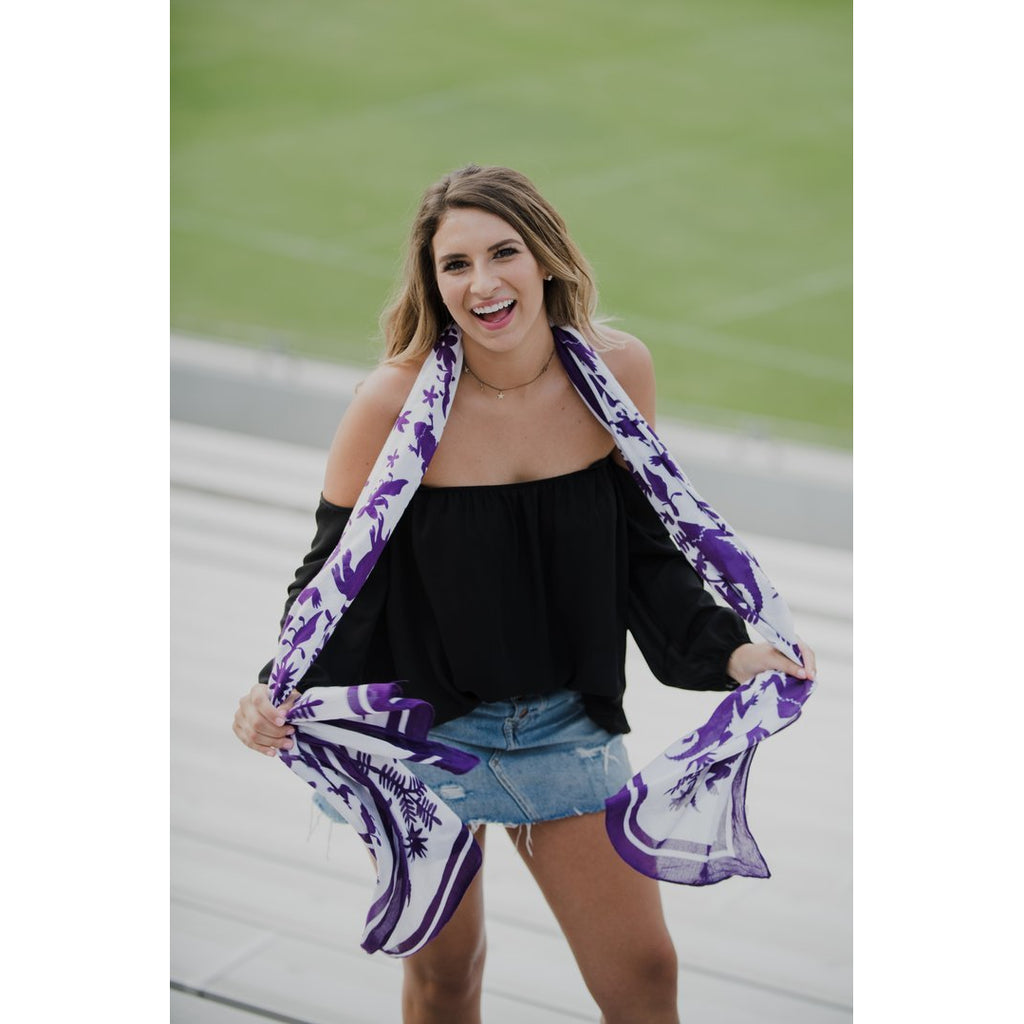 TCU Horned Frogs Scarf/Spirit Snob