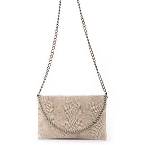 Cammy Handbag in Natural Cobra/Sarah Stewart