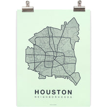 Houston Native Map/Native Maps