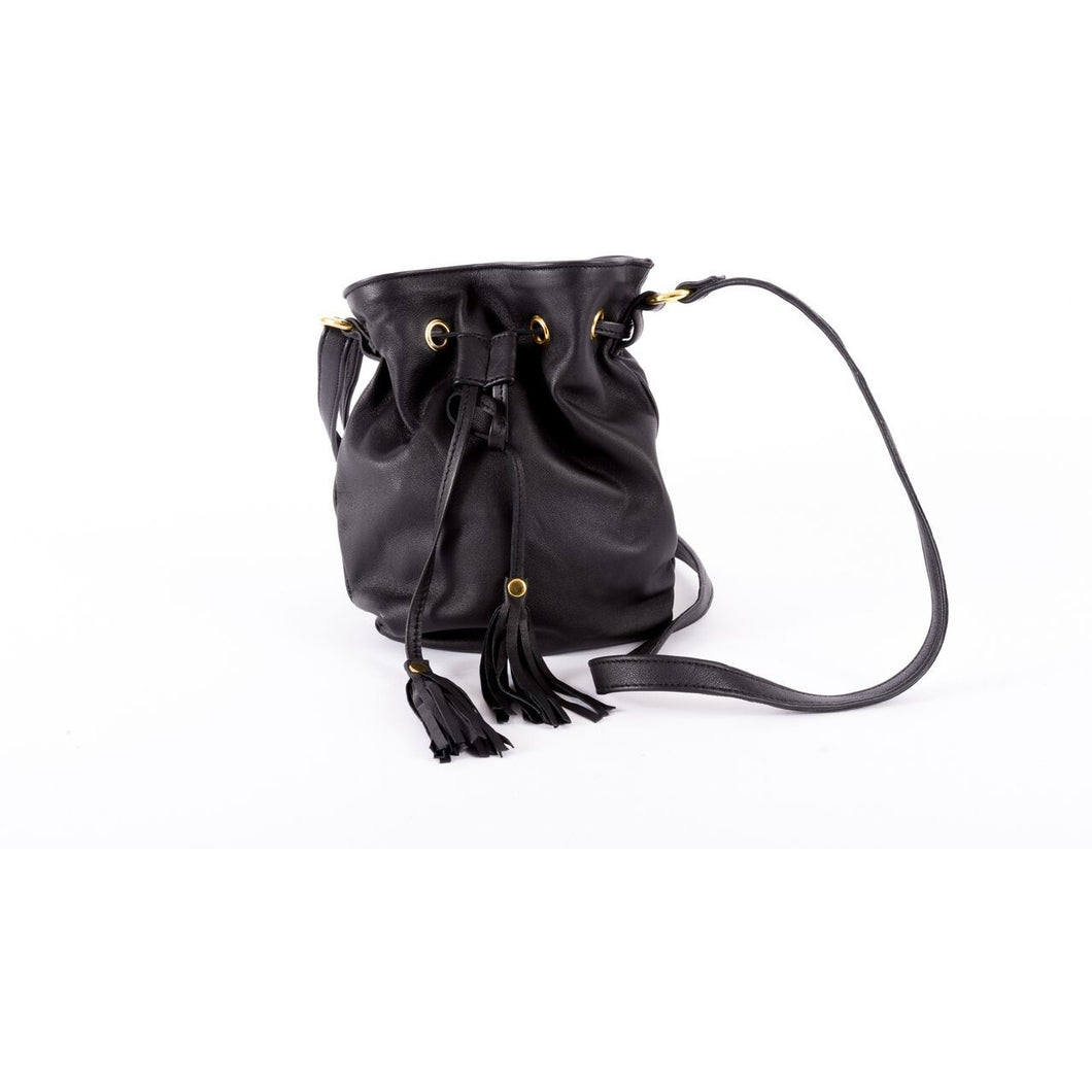 Cindy Crossbody in Black/Sarah Stewart