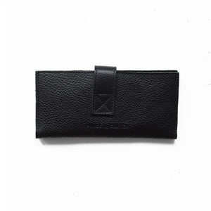 Leather Wallet, Black/Purse & Clutch