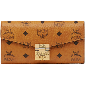 Patricia Crossbody Wallet in Visetos/MCM