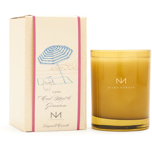 Capri Cool Mint & Geranium Candle/Niven Morgan