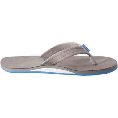Men's Fields Sandal in Light Gray, White & Sky Blue/Hari Mari
