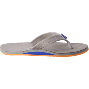 Men's Fields Sandal in Light Gray, Blue & Orange/Hari Mari