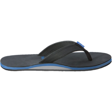 Men's Fields Sandal in Black, Blue & White/Hari Mari