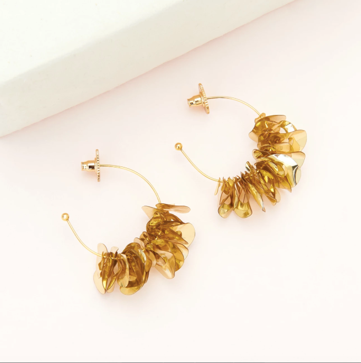 Mini Lolita Hoops in Gold/Mignonne Gavigan
