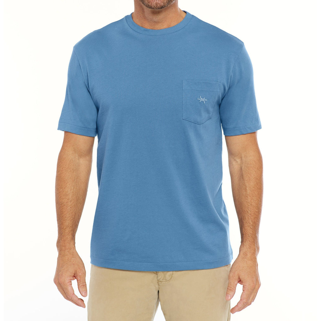 Standard Pocket Tee in Heron/Texas Standard