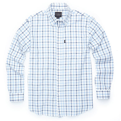 Bluebonnet Check Button-Down/Texas Standard