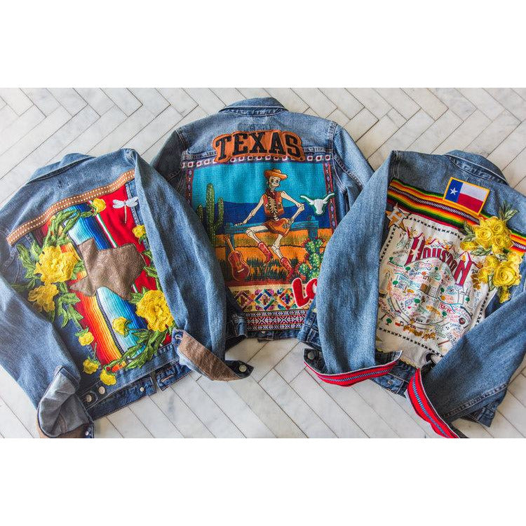 Rockets Denim Jacket/Two Tequila Sisters