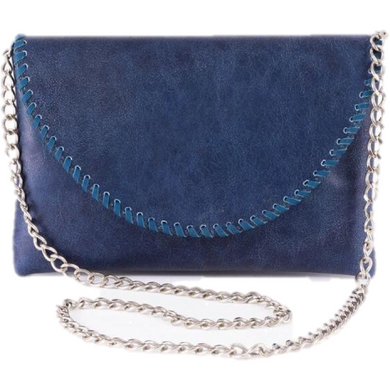 Cammy Handbag in Blue Crackle/Sarah Stewart