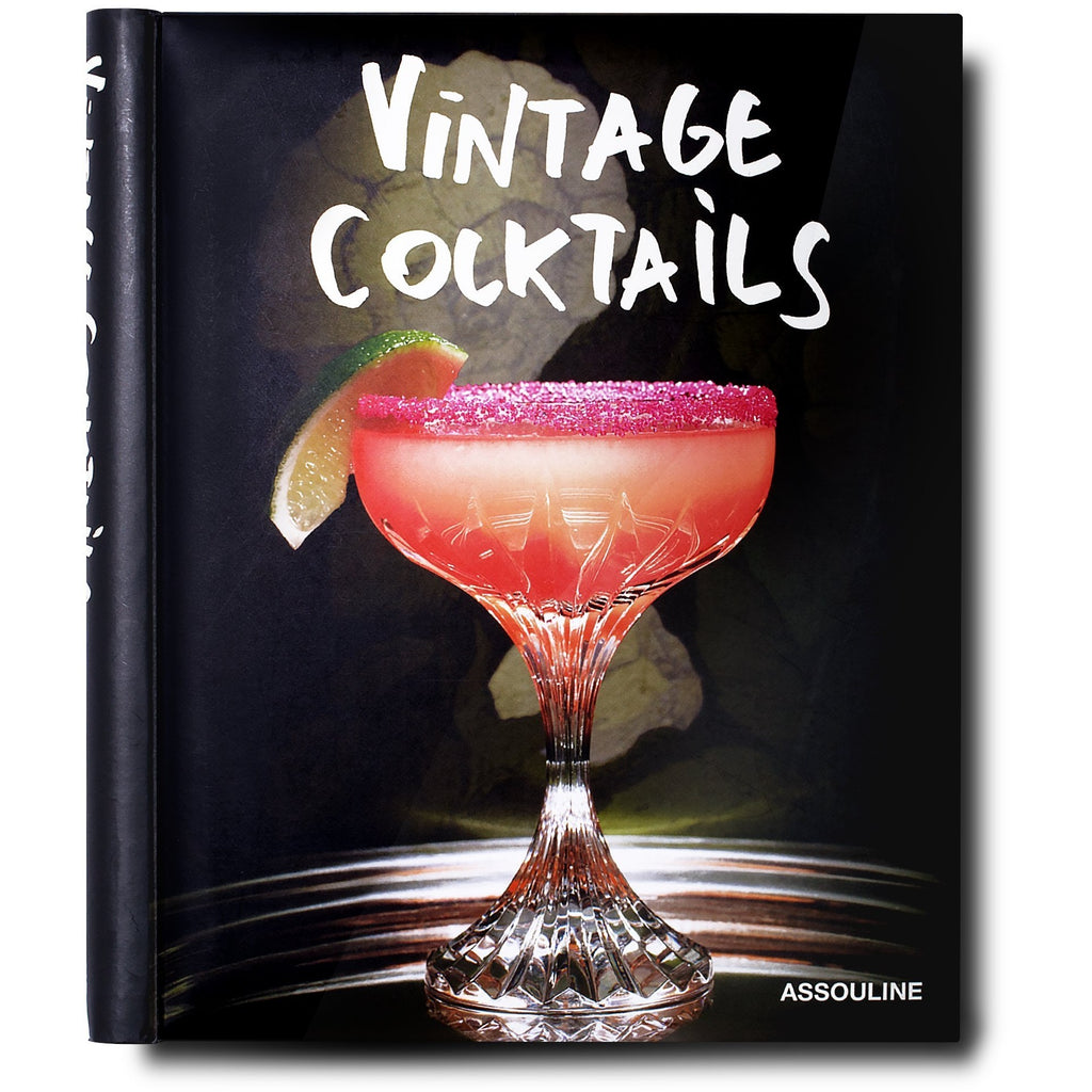 Vintage Cocktails Book/Assouline