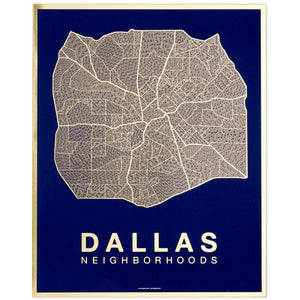 Dallas Native Map/Native Maps