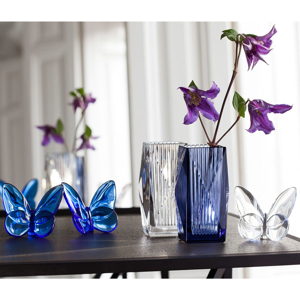 Papillon Lucky Butterfly in Blue/Baccarat