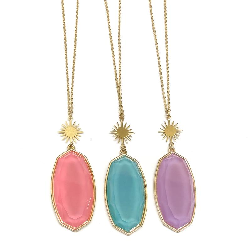 Athens Long Necklaces/Nikki Smith Designs