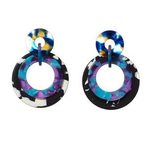 Banded Hoop Earrings/LeLe Sadoughi