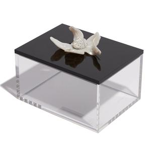Large Crystal Lily Decorative Box/LeLe Sadoughi