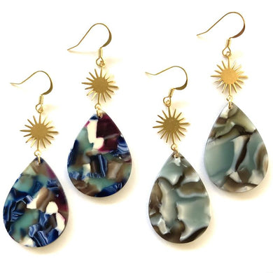 Brie Drop Earrings/Nikki Smith Designs