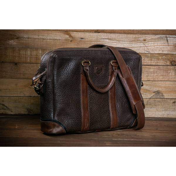 Theodore Leather Briefcase/Mission Mercantile