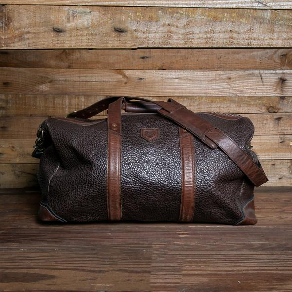 Theodore Leather Duffle/Misson Mercantile