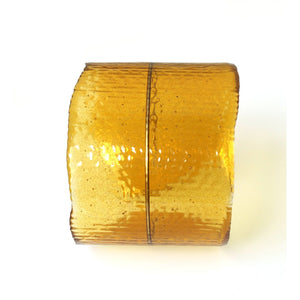 Resin + Brass Cuff Bracelet in Amber/Object Make and Model