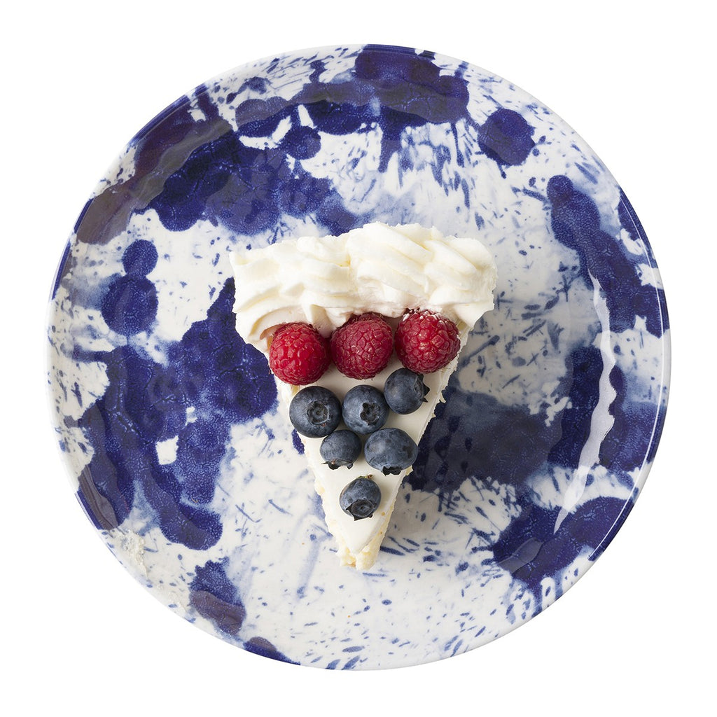 Splatter and Spin Melamine Dessert-Salad Plate/Juliska