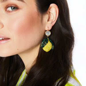 Lemon Drop Earrings/Mignonne Gavigan