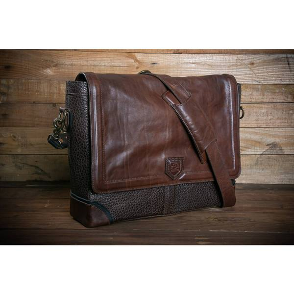 Theodore Leather Messenger/Misson Mercantile