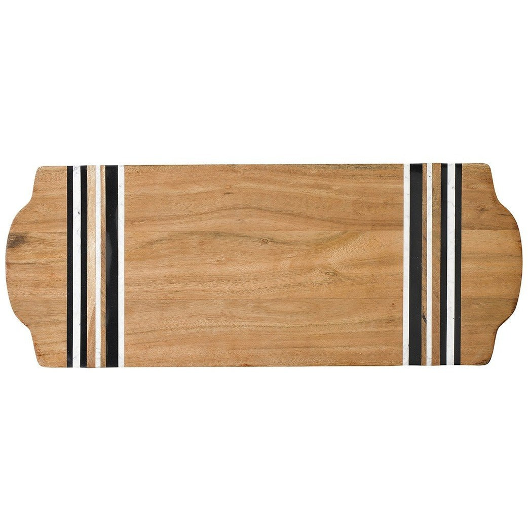 Stonewood Stripe Large Cutting Board/Juliska