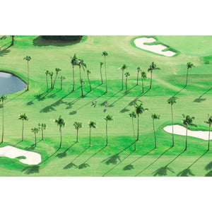 The Golfers, Palm Beach Print/Gray Malin