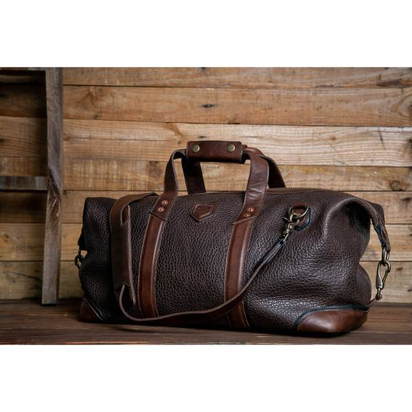 Theodore Leather Weekender/Mission Mercantile