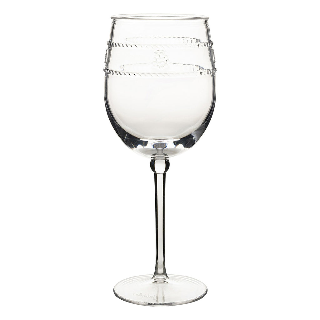 Isabella Acrylic Wine Glass/Juliska