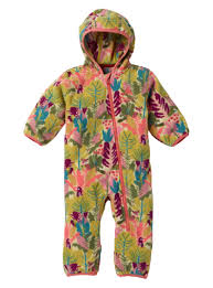 Burton Mini-Shred Fleece Onesie