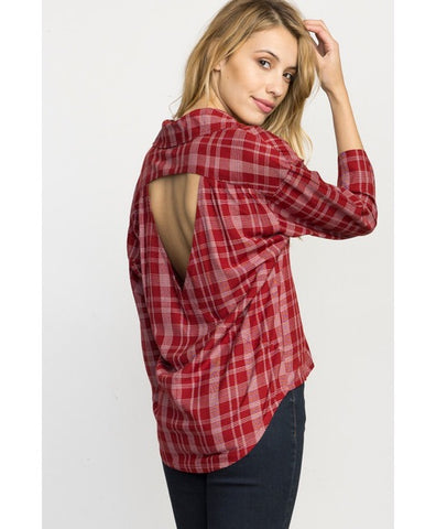 RVCA Drift Away Plaid