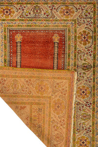 Antique Turkish Kaiseri Silk 160x125cm