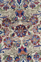 Load image into Gallery viewer, Antique Persian Kashan Mohtasham 200x130cm