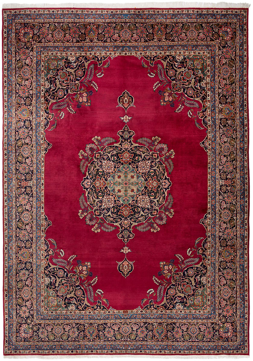 Antique Persian Qazvin 426x313cm