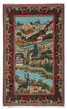 Load image into Gallery viewer, Old Persian Kashan Pictorial 215x133cm