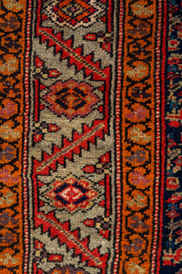 Old Persian Bidjar Runner 477x107cm