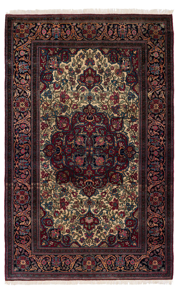 Antique Persian Isfahan 223x145cm