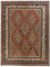 Load image into Gallery viewer, Vintage Persian Qashqai Kilim 480x405 cm