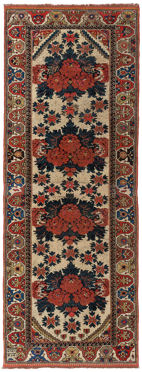 Old Persian Azerbaijan Runner 270x100cm