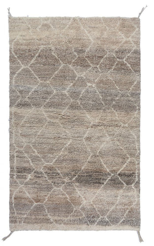 Flo Moroccan Berber Beni Ourain Lilla Rug to buy London UK