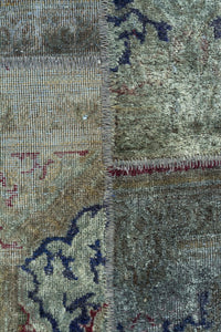 Persian Overdyed Patchwork 243x165cm